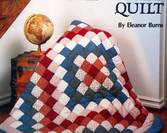 Trip Around The World Quilt By Eleanor Burns Quilt In A