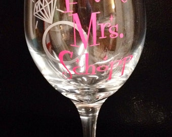 Wineglass for the Bride-to-Be