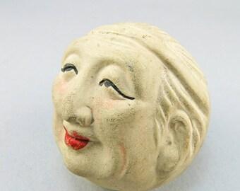 Vintage Japanese Saki Cup Porcelain 1930s Collectibles Asian Arts Japanese Arts Antiques Collectibles