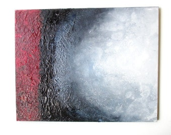 "Universe, Original Abstract Painting, Acrylic on Canvas, 24""x30"" (61 cm x 76 cm). Two purchasing options available at two different prices."