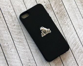 iPhone 8 Case Frog Case Black iPhone 6 Plus Case Toad Animal iPhone Case Cute Case iPhone 6s  Case iPhone 6s Case iPhone6 Black