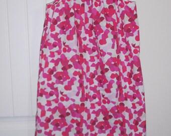 Pink Splotches Girls Pillowcase Dress