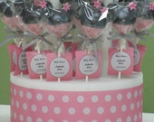1 Dozen of Deliciously, Decorated, Custom Made to Order Minnie Mouse Cake Pops