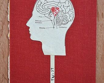 Leçon de Twist * Original Art * Book Cover Collage