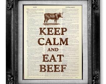 beef poster | etsy - Poster Für Küche