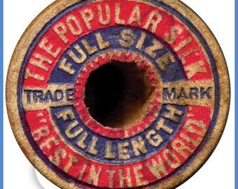 Digital Image of Popular Silk Thread Spool Cap