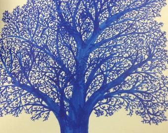 Hand Drawn Artsy Trees