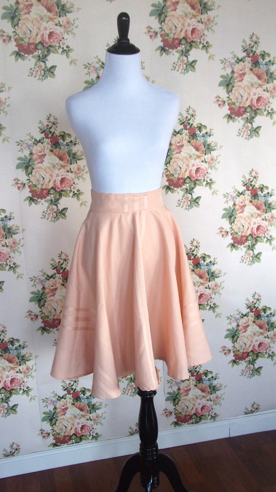 high waisted circle skirt size small