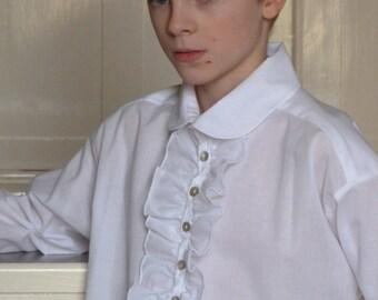 White Poet Shirt