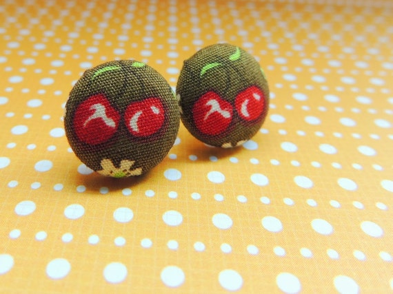 https://www.etsy.com/listing/174588607/cherry-pair-button-earrings-olive-and