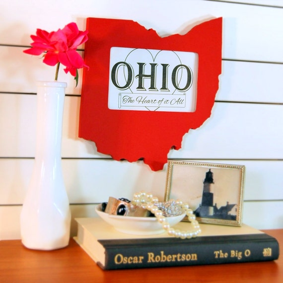 Ohio picture frame 4x6