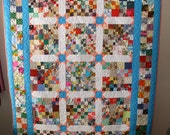 Twin Quilt I See Stars and 4-Patches
