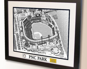 PNC Park Art, home of the Pittsburgh Pirates