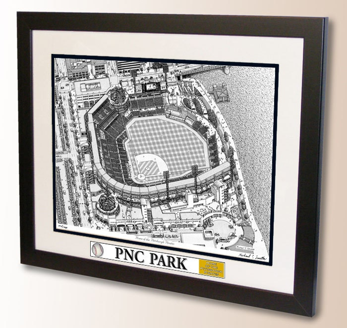 Pnc Park Art Home Of The Pittsburgh Pirates