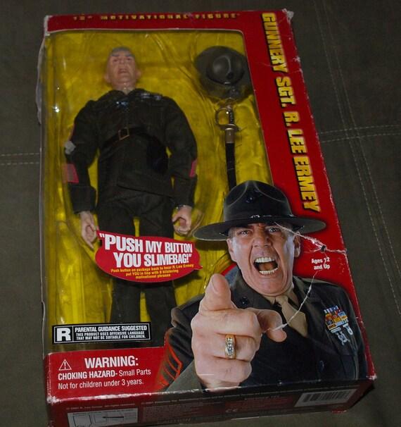Gunnery Sgt. R. Lee Ermey Full Metal Jacket Marine Sideshow