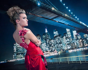 Brooklyn Bridge Photography Backdrop
