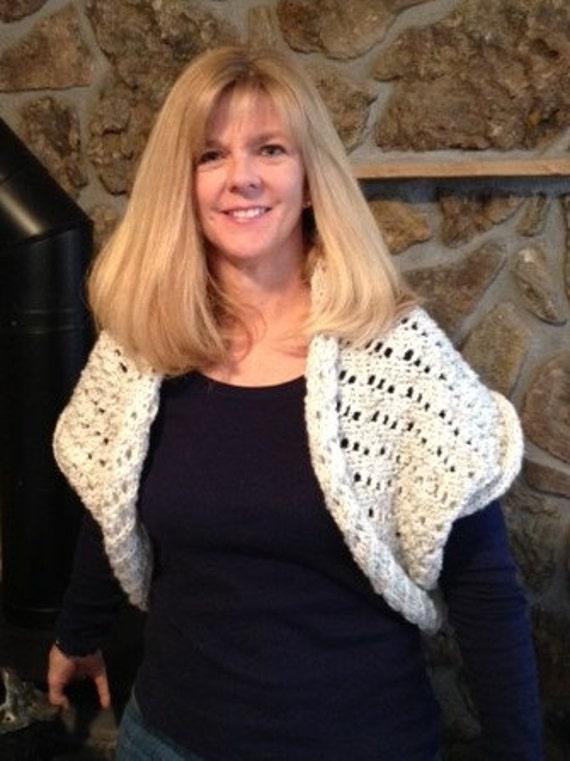 Shrug - a loom knit pattern