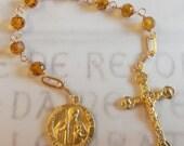 Chaplet to St Jude Thaddeus - 18K Gold Vermeil