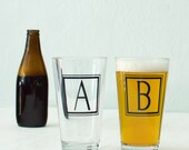 RESERVED FOR SANDY Monogram pints