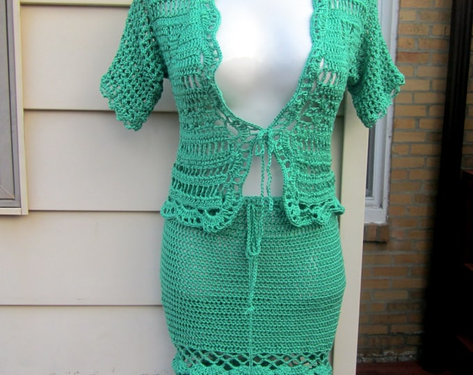 SWEATER, Crochet sweater, short sleeve bolero, summer sweater, festival, boho chic , sweater