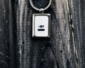 Retro Photographer's Gift Idea, Key Chain featuring Vintage Camera