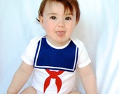 Stay Puft Baby Costume - Halloween Sailor Costume
