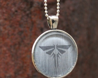 Fireflies Dogtag inspired necklace