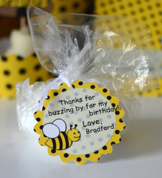 Bumble BEE Birthday Party Favors Bee Baby Shower