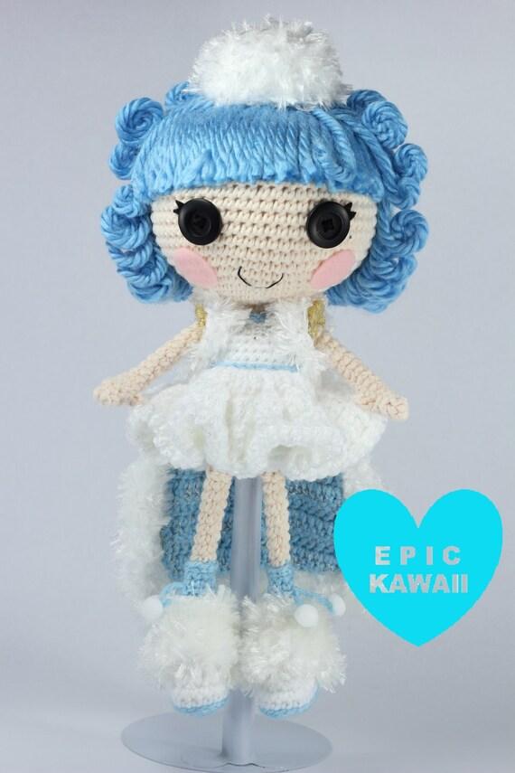 Amigurumi Hawai Doll : Pattern ivory crochet amigurumi doll