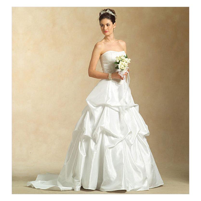 Evening dress pattern uncut mccalls m5321 bridal by for Wedding dress patterns mccalls