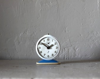 Upcycled Vintage French Jaz  Alarm Clock  Loft Decor