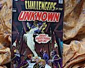 Deadman And Challengers Of The Unknown No 74 DC Comic Book Neal Adams Berni Wrightson Horror Sci Fi