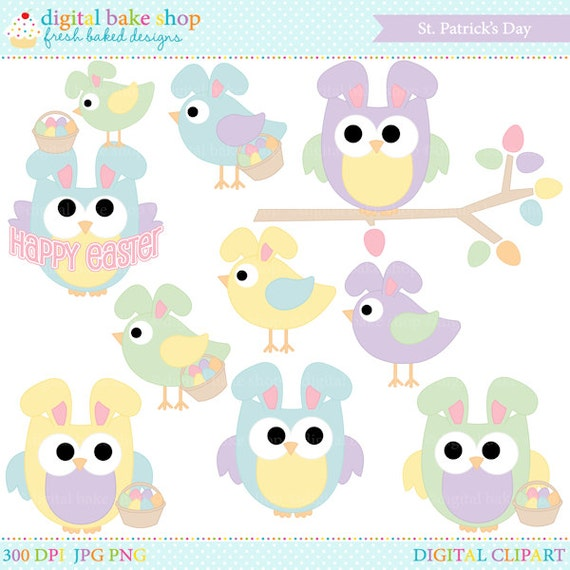 free easter owl clip art - photo #25