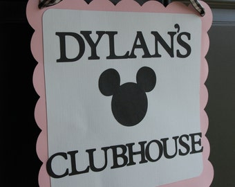 Minnie Mouse Door Sign, Minnie Mouse Birthday, Minnie Mouse Decorations,