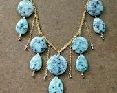 Dalmatian Jasper Tiered Necklace