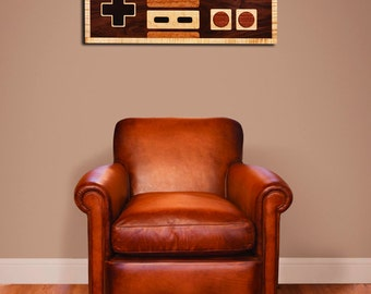 8-bit Retro Gaming Wall Art