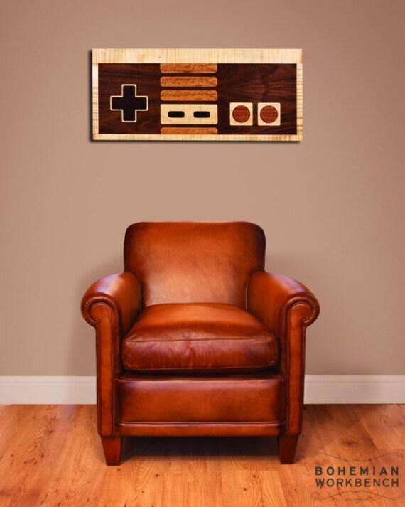 Nintendo Wall Art 8-bit retro gaming wall art