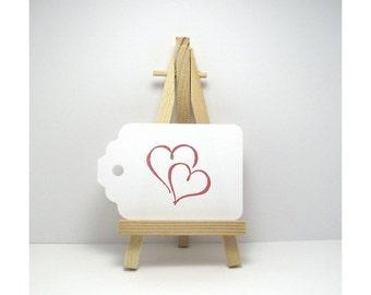 Gift Tags, Tags, Love Tags, Heart Tags, Heart Gift Tags, Wish Tree Tags - Wishing Tree Tags - Valentine Tags