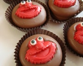 12 Milk Chocolate Oreo Cookie Favors Sesame Street Birthday Party Candy Sweets Dessert Table Elmo's World