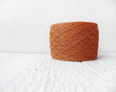Laceweight Linen yarn - harvest orange - YarnStories