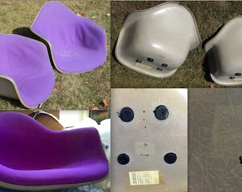Purple eames chair Etsy