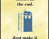 Doctor Who: Instant Digital Art Print