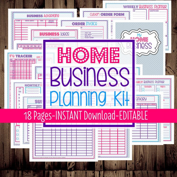 40% OFF-Home Business Planner Small Business By