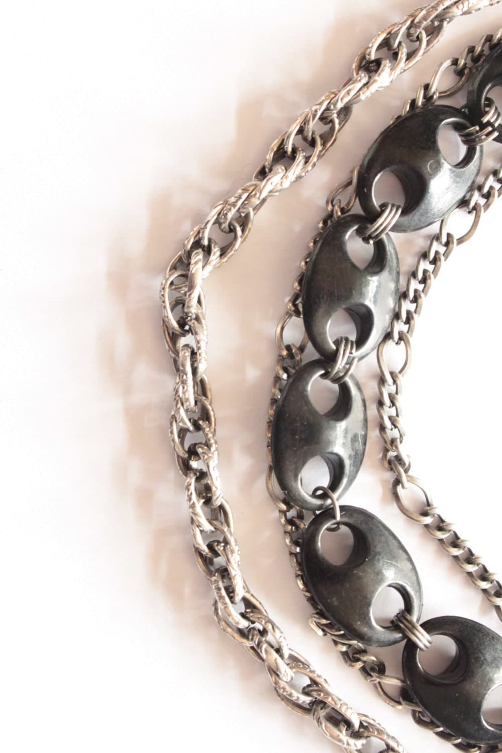 metallica necklaces statement necklaces rock metal by anneola