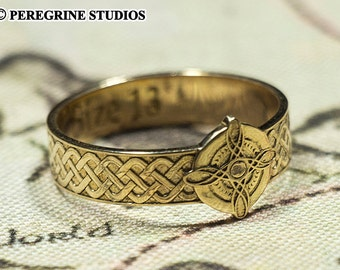 Ring of Mara (Polished Bronze, Polished Silver)