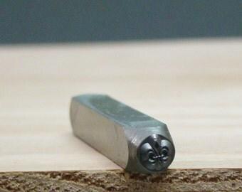 Fleur de lis Metal Stamp - Metalworking - Metal Punch - Tools