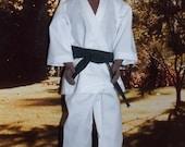 """Black Belt Karate Uniform by Jan - 12"""" Tall Fashion Doll Clothes. 1:6 Scale Male Fashion Doll Clothes"""