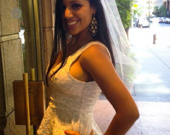 Bachelorette Hair Veil, Bridal Shower Veil, Hen Party, Stagette, Despedida de Soltera