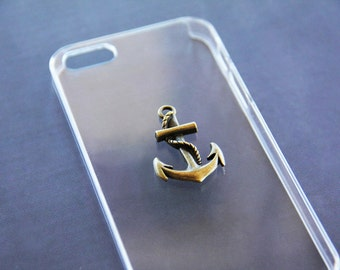 Nautical iPhone 5s Case Nautical iPhone 5 Case Anchor iPhone 5s Case Anchor iPhone 5 Case Transparent iPhone Cases iPhone 6s  Anchor