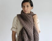 The Pembroke Cowl in Toasted Coconut